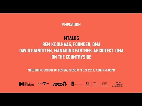 MTALKS - Rem Koolhaas and David Gianotten on countryside