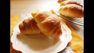 【食譜】鹽可頌(鹽奶油捲)❤一出爐就被秒嗑的美味麵包