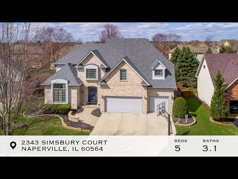 Welcome To 2343 Simsbury Ct, Naperville, IL 60564   The Jeff Stainer Team