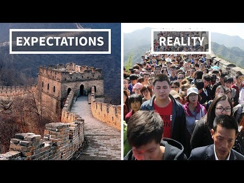 Travel Expectations Vs. Reality    10K Subscribers Special