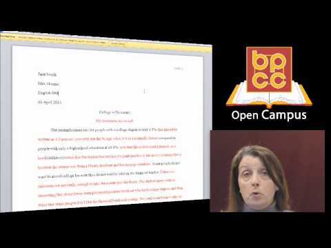 English 099 Module 13.4 - Sample Essay from YouTube · Duration:  6 minutes 47 seconds