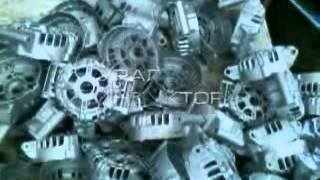 Дробеструйная установка с ленточным конвейером  (Дробомет, дробемет)(дробеструйный с ленточным конвейером в работе (Дробомет, дробемет), 2014-08-12T04:35:08.000Z)