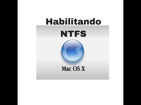 Habilitar NTFS no MAC (leitura e escrita)