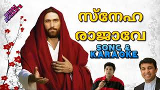 Sneharajave Song & Karaoke | Fr. Binoj Mulavarickal Hits Malayalam christian devotional song
