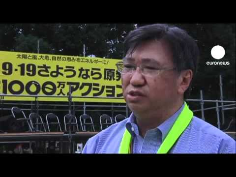 Thousands protest in Japan against nuclear power