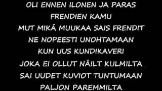 @junkmail- kun kaikki muuttuu (lyrics)