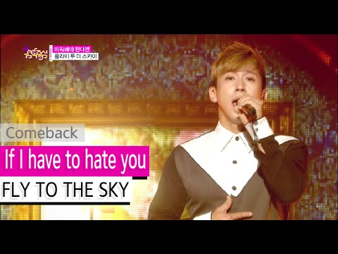 Comeback Stage FLY TO THE SKY  If I have to hate you, 미워해야 한다면, Show Music core 20150919