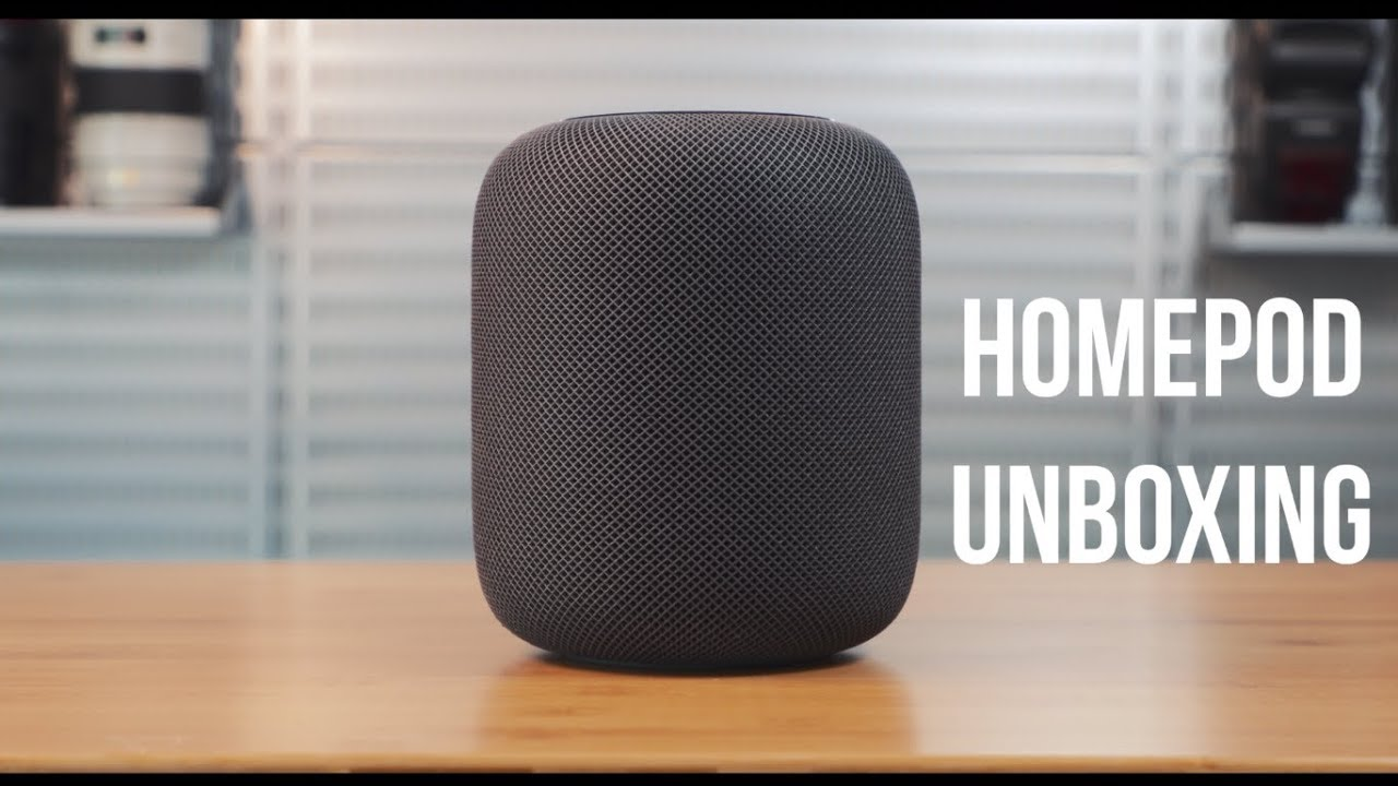 Unboxing - Apple HomePod the Hey There Studios way