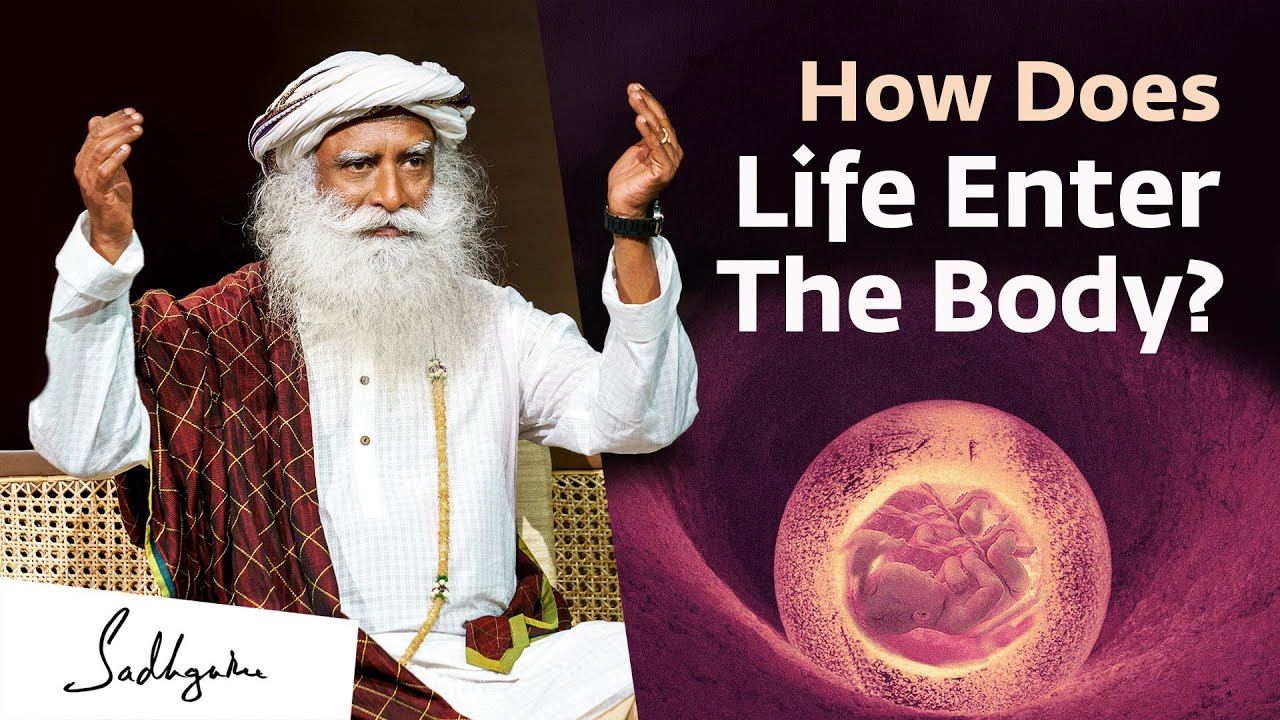 Download How Does Life Enter The Body? Sadhguru Answers