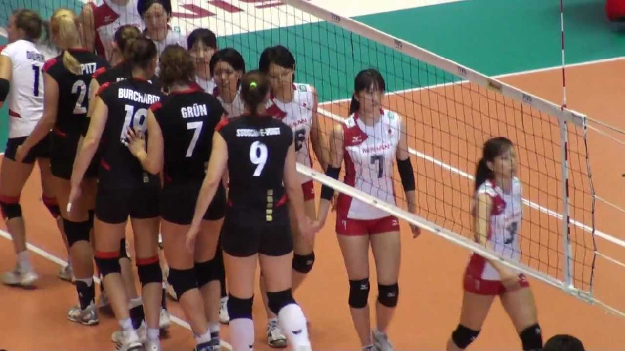 FIVBワールドカップバレーボール女子大会 2011年11月17日 日本vsドイツ ...