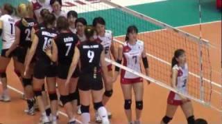 FIVBワールドカップバレーボール女子大会 2011年11月17日 日本vsドイツ