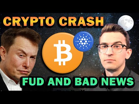 CRYPTO FUD AND BAD NEWS – Market Crash Continues