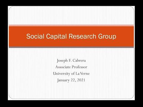 The Structure of Social Capital - Joseph Cabrera