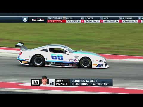 The Trans Am Series - Full Race - The Trans American from Circuit of The Americas
