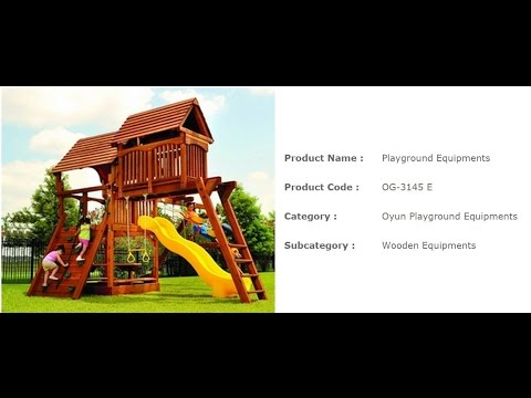 Playground Equipments And Accessories For Indoor & Outdoor From Playground Equipment Manufacturer