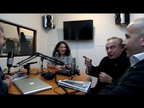 Radio Presidente Ibañez de Punta Arenas recibe al Rey Luis Dimas