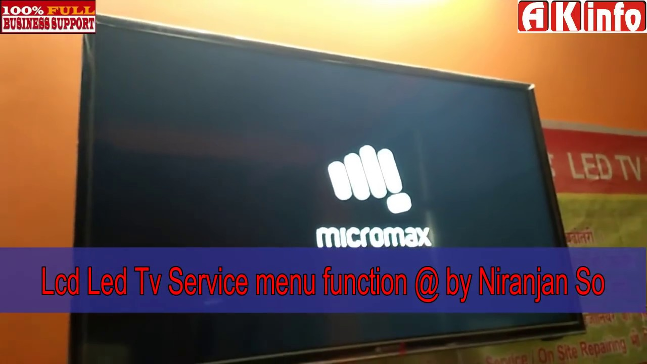 Lcd/Led Pannal mapping solution ,Tv service mode settings