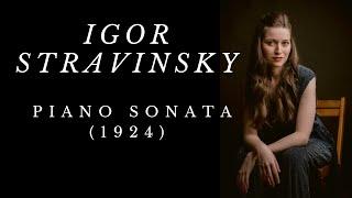 Angela Otcuoglu - Stravinsky Piano Sonata (1924)