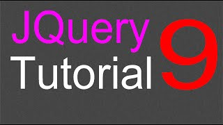 JQuery Tutorial for Beginners - 9 - The HTML and Text method Mp3