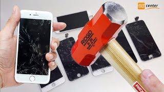 видео Качественная замена стекла на iPhone 5 в сервисном центре Apple