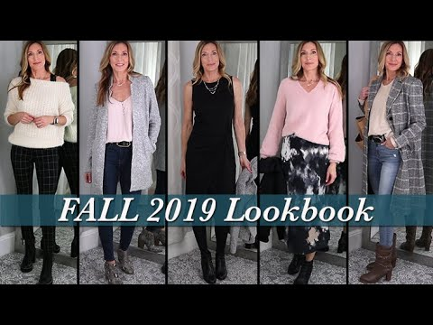 [VIDEO] - Fall Lookbook 2019 ~ Outfit Ideas for Mature Women! 2