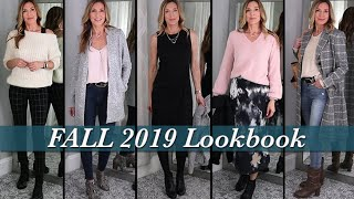 Fall Lookbook 2019 ~ Outfit Ideas for Mature Women!