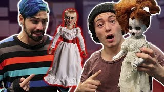 ANNABELLE DOLL POSSESSES NEW DOLL!! (BIG MISTAKE)