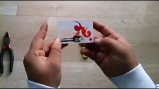 Cara membuat  kunci duplikat dari bekas kartu perdana