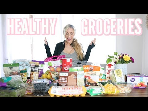 HEALTHY, EASY OPTIONS AT YOUR LOCAL GROCERY STORE | VEGETARIAN HAUL!