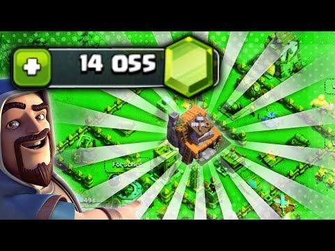 14000 Gems ausgeben! Meisterhütte LEVEL 4 MAXED OUT • Clash of Clans deutsch