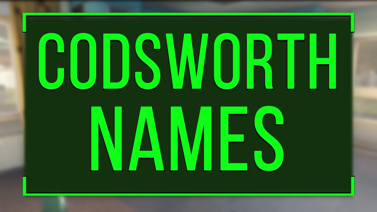 132 Funny & Cool Names Codsworth Can Say (Fallout 4)