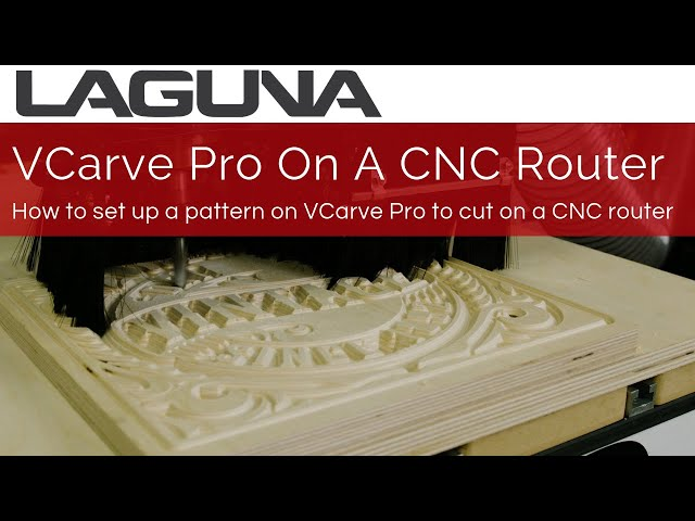 How To Use VCarve Pro with an iQ CNC Router For Sign Making   Laguna Tools