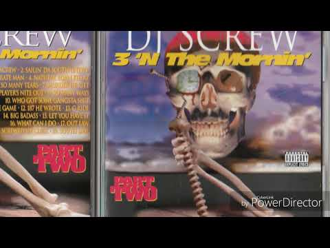 Dj Screw Sailin Da South instrumental
