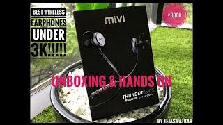 Best Wireless Earphones | Review & Hands On | MiVi Thunderbeats