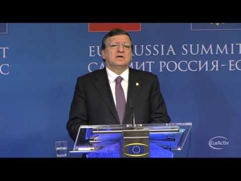 EU's Barroso welcomes abolishment of anti-protest law in Ukraine