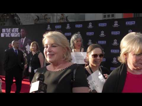 2017 TCM Classic Film Festival  Carpet Chat with Suzanne Lloyd