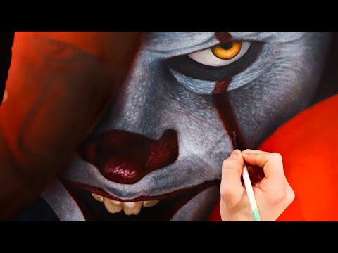 Painting Pennywise - Ty France