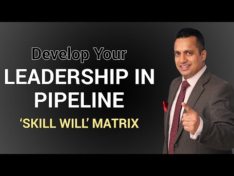 Leadership in Pipeline for Entrepreneurs & Top Management Skill Will Matrix by Vivek Bindra