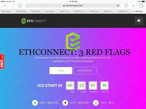 3 REASONS TOO BE WARY OF ETHCONNECT