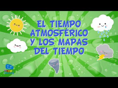 el-tiempo-atmosfÉrico-y-los-mapas-del-tiempo-☀☂❄- -vídeos-educativos-para-niños