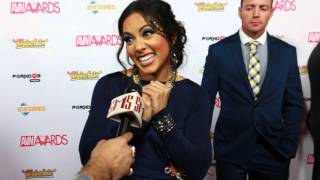 Gambar cover Morgan Lee Talks Celebrity Crush on AVN Awards Red Carpet 2016