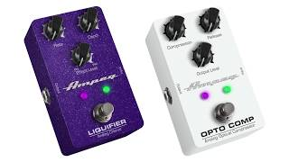 Opto Comp Compressor and Liquifier Chorus Pedals - Overview
