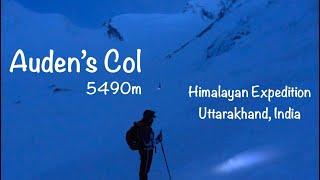 Auden's Col (height 5490m) and Mayali Pass Trek