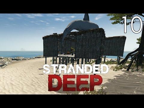 Stranded Deep [#10] Budowa mega bazy i fauna morska