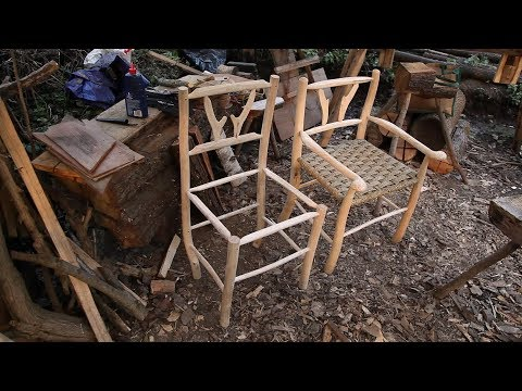 How to make a Chair from Ash branches video