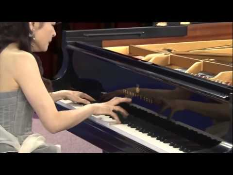 仲道郁代 ピアノソナタ 月光 第3楽章 Moonlight Sonata 3rd mov