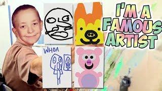 I'M A FAMOUS ARTIST (Passpartout: The Starving Artist)