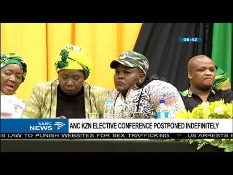 ANC KZN Elective conference postponed indefinitely