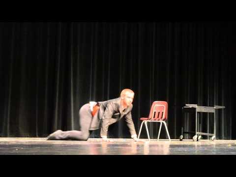 The 'shhh' dance by Luke Medlicott