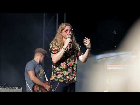 Allen Stone at Rock The Shores 2018: Brown...